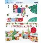 3D Village Advent Calendar