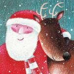 Festive Friends Greetings Cards