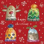 Winter Woolies Christmas Cards