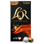 L'OR Espresso Colombia Intensity 8, Aluminium Coffee Capsules