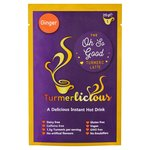 Turmerlicious Ginger 20g Packet - Instant Turmeric Latte Dairy Free