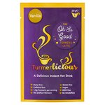 Turmerlicious Vanilla 20g Packet - Instant Turmeric Latte Dairy Free