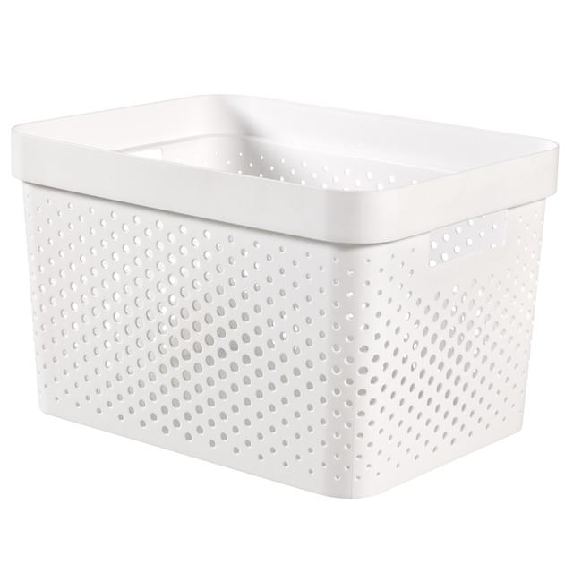 Curver Infinity Box Dots, White