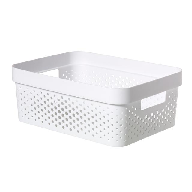 Curver Infinity Box Dots, White-