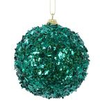 Green Sprinkle Foam Christmas Bauble