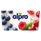 Alpro Cherry & Blueberry Yoghurt Alternative