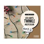 360 LED Twinkle Christmas Tree Lights, Multi Colour
