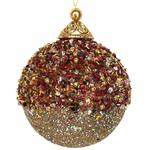 Beaded Bauble Christmas Tree Decoration