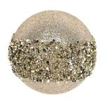 Glitter Ball Christmas Tree Decoration