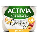 Activia Intensely Greek Style Peach Yogurts