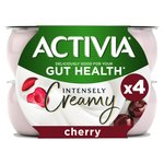 Activia Intensely  Greek Style Cherry Yogurts