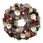 Natural Effect Christmas Wreath