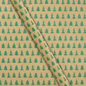 Waitrose Christmas Tree Giftwrap Roll