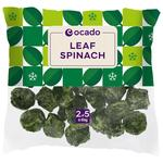 Ocado Frozen Leaf Spinach