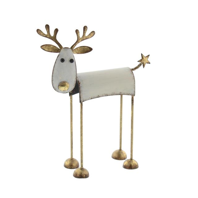 metal reindeer christmas decoration - Metal Reindeer Christmas Decorations