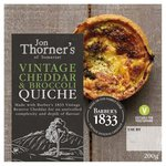 Jon Thorner's Somerset Vintage Cheddar & Broccoli Quiche