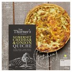 Jon Thorners Somerset Cheddar & Onion Large Family Quiche