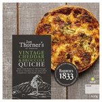 Jon Thorners Vintage Cheddar & Broccoli Large Family Quiche