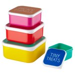 Happy Jackson Snack Box Set Of 4 'Yay Leftovers'
