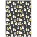 Christmas Penguins Giftwrap Sheets