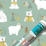 Polar Pals Christmas Gift Wrap Sheets