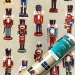 Nut Crackers Christmas Giftwrap Sheets