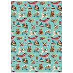 Toy Town Christmas Giftwrap Sheets
