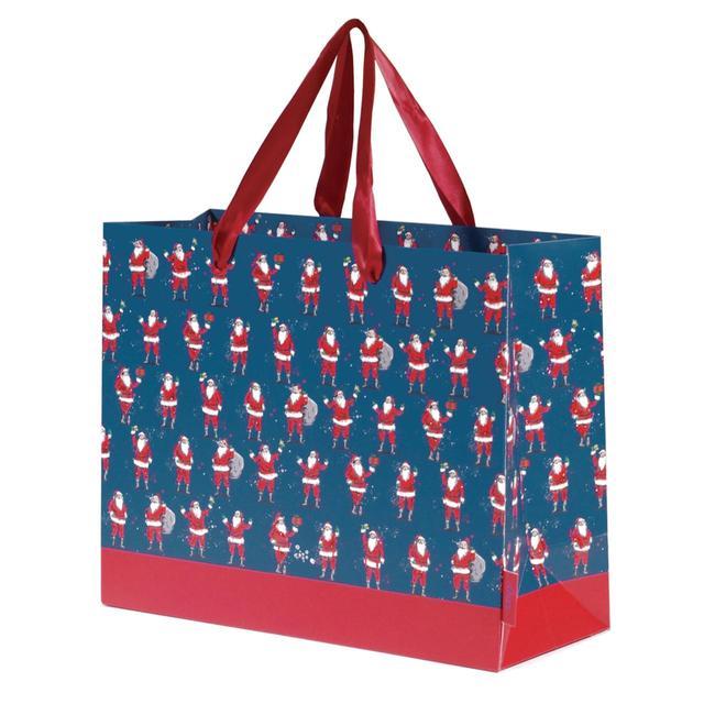 Father Christmas Gift Bag, Medium from Ocado