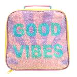 Good Vibes Magic Sequin Lunch Bag