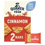 Quaker Porridge To Go Cinnamon Breakfast Bars