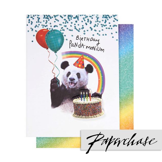 Paperchase Panda Monium Birthday Card From Ocado