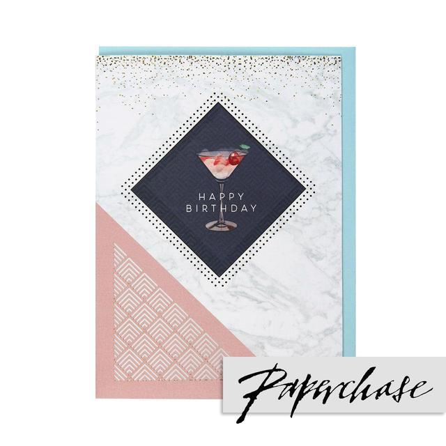 Paperchase Happy Birthday Card From Ocado
