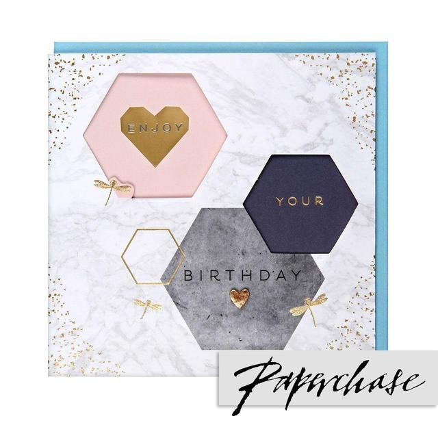 Paperchase Enjoy Your Birthday Card From Ocado