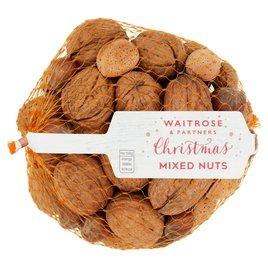 Waitrose Christmas Mixed Nuts Ocado