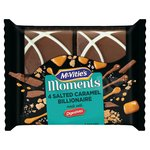 Mcvitie's Moments Salted Caramel Bilionnaire Slices