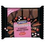 Mcvitie's Moments Choccy Rocky Road Slices