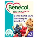 Benecol Blueberry & Cranberry Fruit & Oat Bars