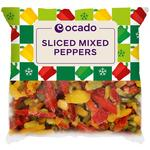 Ocado Frozen Sliced Mixed Pepper