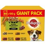 Pedigree Mixed Selection in Gravy Adult Wet Dog Food Pouches