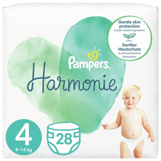 Pampers Pure Protection Size 4 Essential Pack
