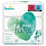 Pampers Pure Protection Wipes 3 x 70 per pack