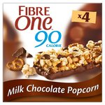 Fibre One 90 Calorie Milk Chocolate Popcorn Bars