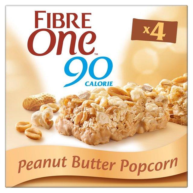 Fibre One 90 Calorie Peanut Butter Popcorn Bars ...