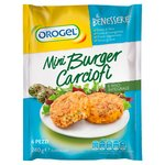 Orogel Mini Burger with Artichokes & Whole Rice