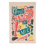 Ulster Weavers Cotton Tea Towel Fruits de Mer