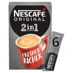 Nescafe Original 2in1 Coffee Sachets
