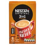 Nescafe Original Caramel 3in1 Coffee Sachets