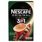 Nescafe Original Strong 3in1 Coffee Sachets