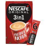 Nescafe Original 3in1 Coffee Sachets 8pk 8x17g
