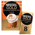 Nescafe Gold Gingerbread Latte Frothy Coffee